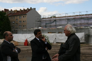 Erol Özkaraca, Raed Saleh & der Chef vom Campus Rütli Klaus Lehnert
