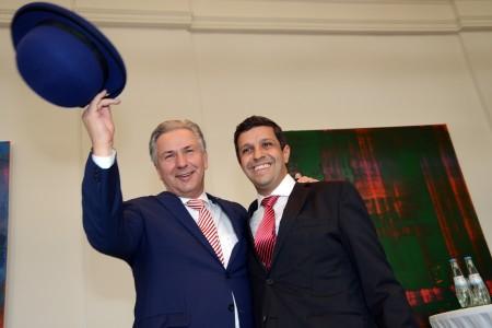Klaus Wowereit und Raed Saleh