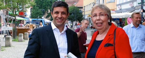 Raed Saleh und Burgunde Grosse