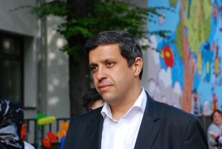 Raed Saleh, Vorsitzender der SPD-Fraktion im Berliner Abgeordnetenhaus