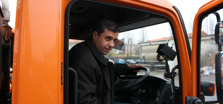 Stadtteiltag: Raed Saleh unterwegs in Spandau