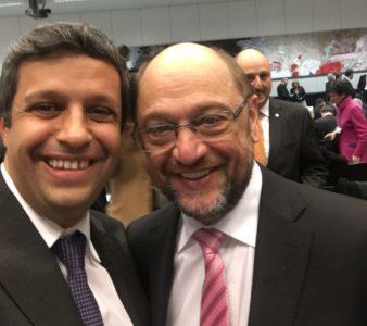 Saleh mit Schulz