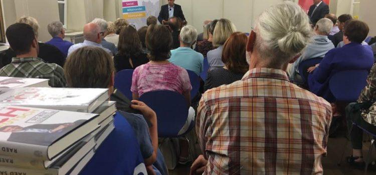 """Lesereihe """"Ich Deutsch – Die neue Leitkultur"""" führt Raed Saleh nach Bayern"""