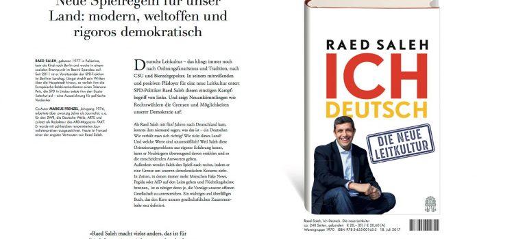 """Lesung """"Ich Deutsch – die neue Leitkultur"""" mit Klara Geywitz und der Friedrich-Ebert-Stiftung Brandenburg"""