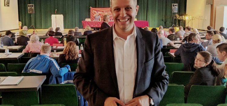 Raed Saleh bestätigt als Vorsitzender der Spandauer SPD