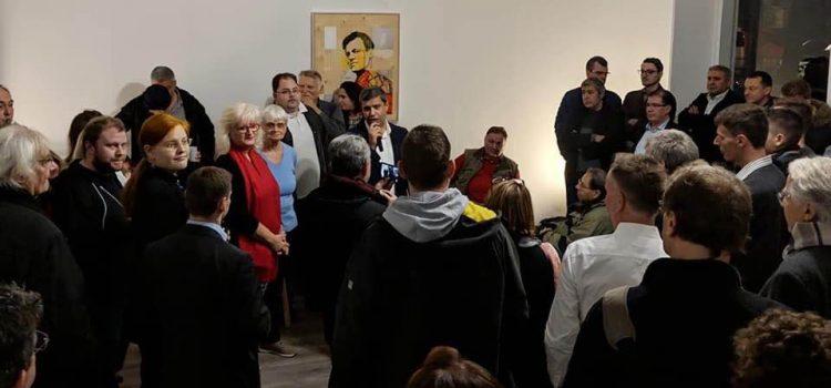 Raed Saleh eröffnet feierlich sein neues Spandauer Bürgerbüro