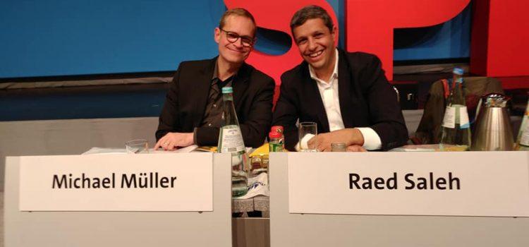 """""""Wir gehen diesen Weg schon seit Jahren"""" – Die SPD Berlin blickt auf einen erfolgreichen Parteitag zurück"""