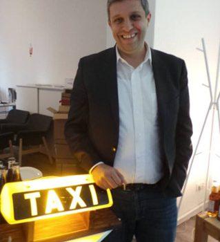 Das Taxigewerbe zu Gast im Bürgerbüro von Raed Saleh