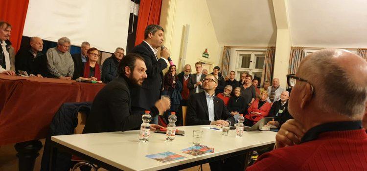 SPD Spandau lud zur Informationsveranstaltung Siemensstadt 2.0