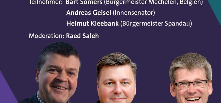 """Podiumsdiskussion: """"Gemeinsam gut und sicher leben"""""""