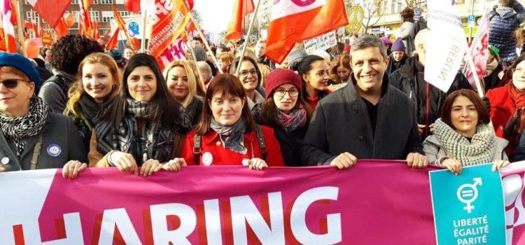 Hinaus zum internationalen Frauentag!