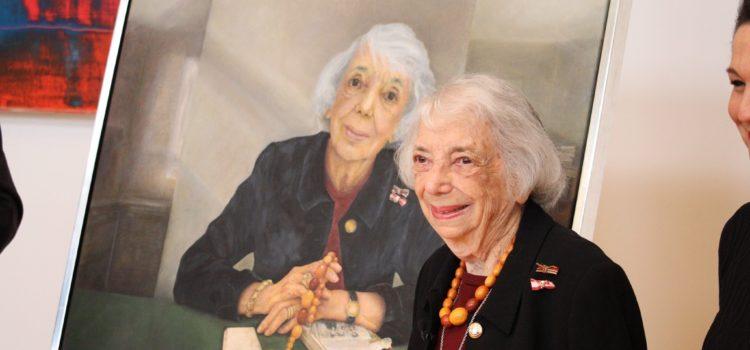 Enthüllung des Porträts von Margot Friedländer