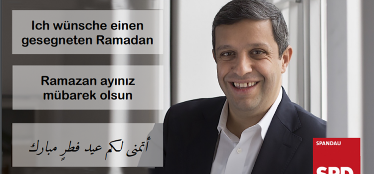 Raed Saleh wünscht einen gesegneten Ramadan