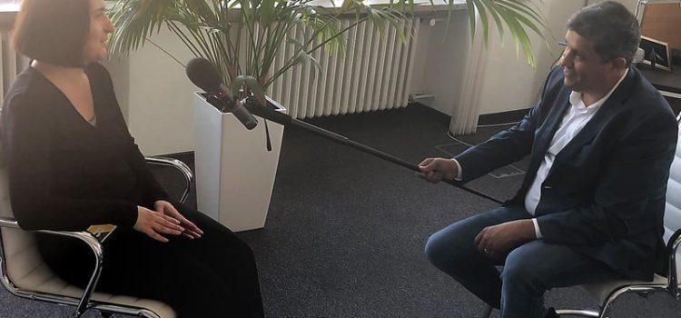 """Eine neue Folge vom Podcast """"Ich hab da mal 'ne Frage"""""""