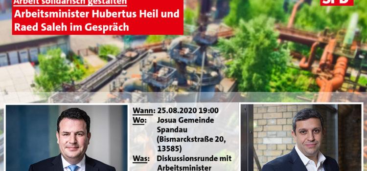 Hubertus Heil kommt nach Spandau