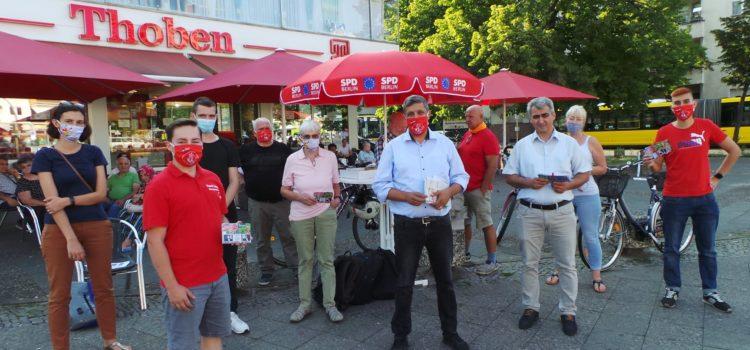 #ansprachbar in der spandauer Wilhelmstadt