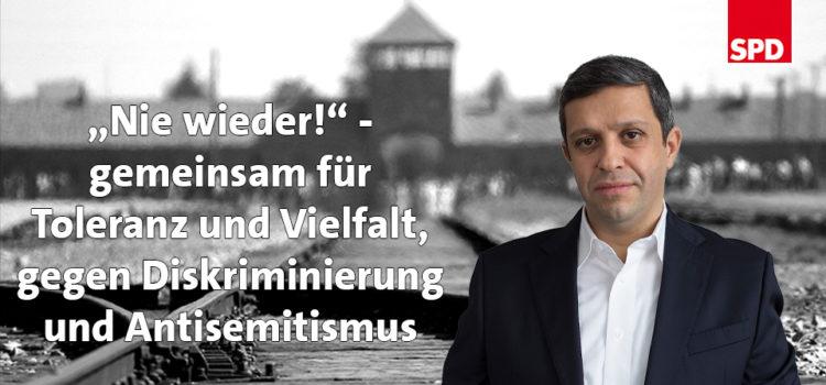Gedenken an die Befreiung von Auschwitz