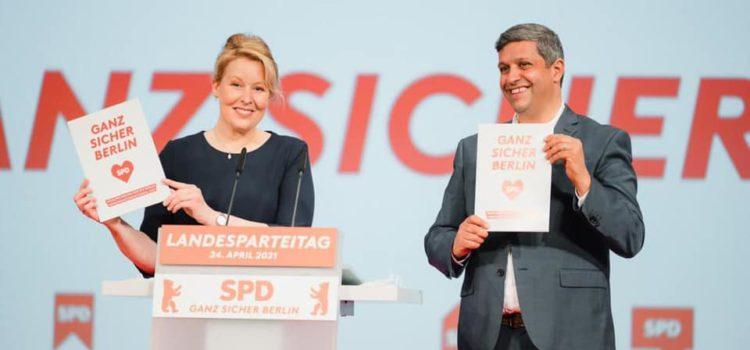 Landesparteitag der SPD-Berlin