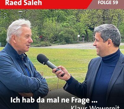 Neue Podcast-Folge mit Klaus Wowereit